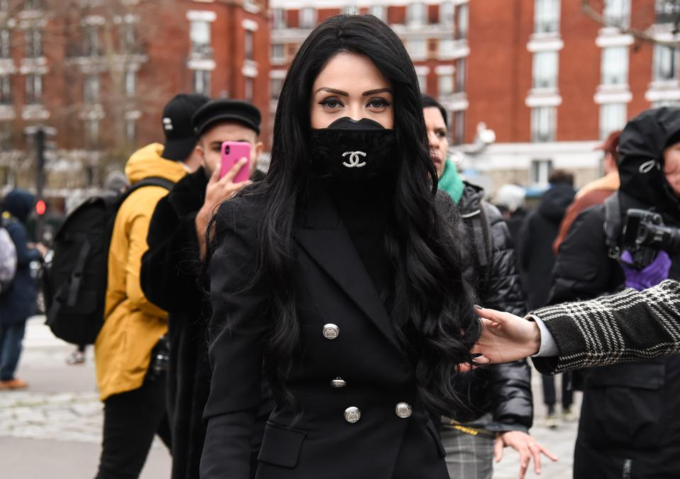 Paris Fashion Week - face mask - coronavirus covid-19