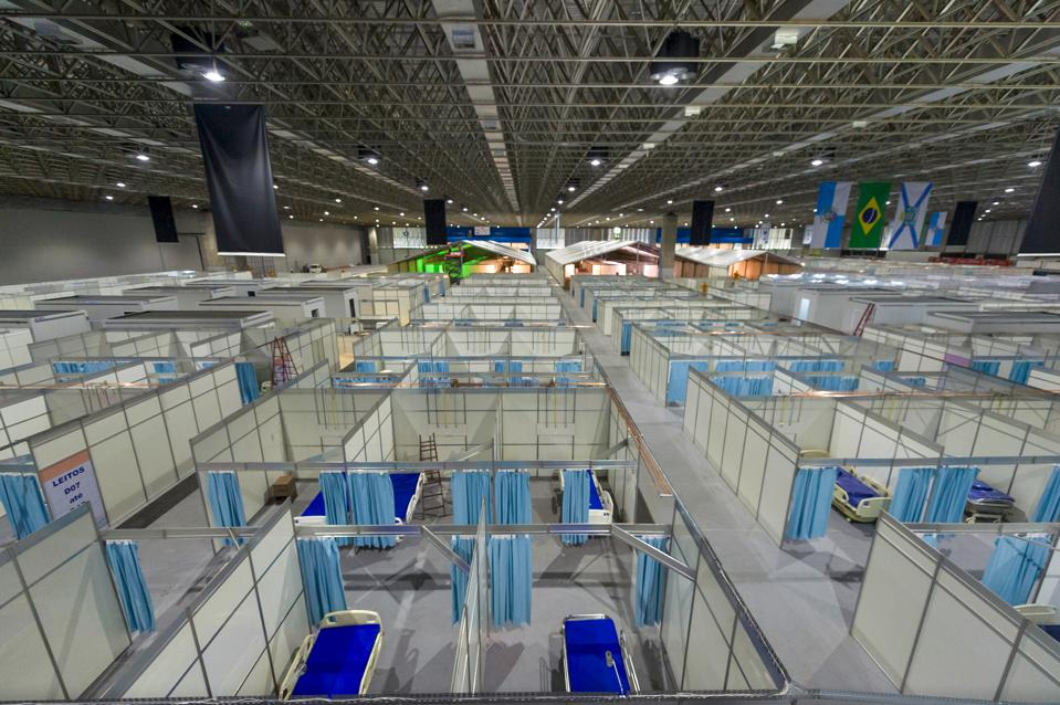 Riocentro Convention and Event Center to Turn Into Field Hospital Due to the Coronavirus (COVID -19) Pandemic