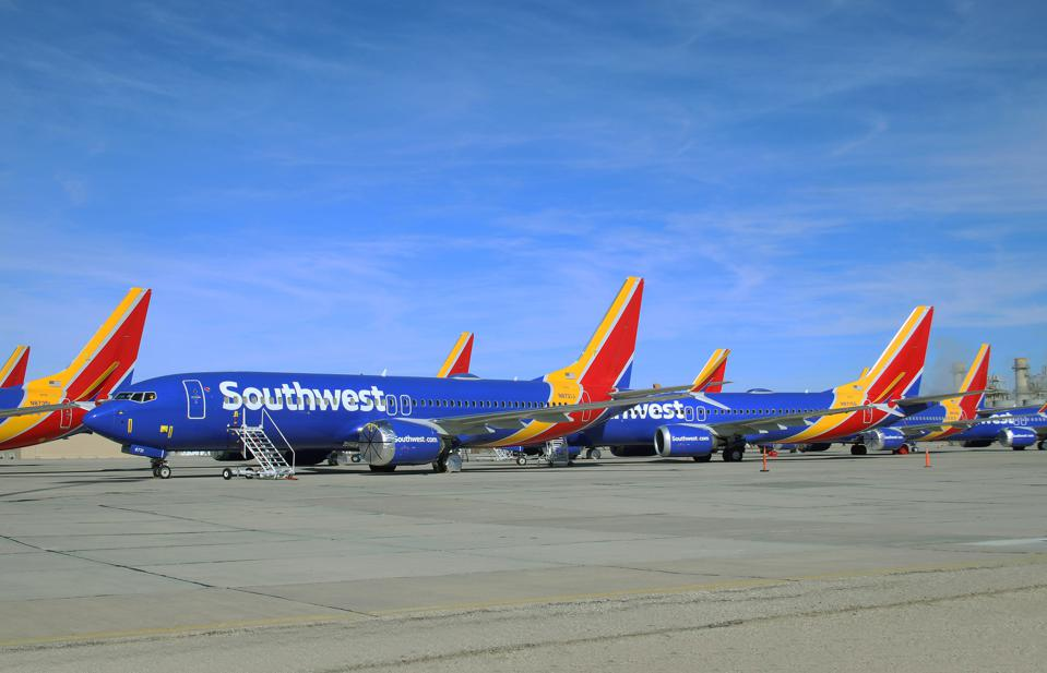 NEWS: MAR 31 Grounded Boeing 737 MAX Airliners