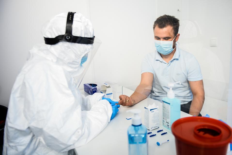 Hospital Offers Coronavirus Antibody Tests, But Health Authorities Urge Caution