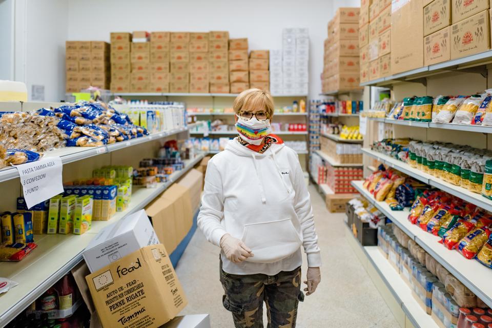 Volunteer Work During The Coronavirus Pandemic Period In Molfetta