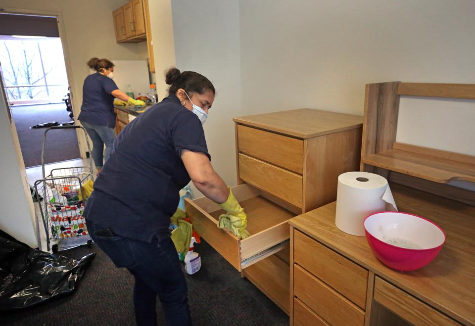 University Dorms Will House Workers and Coronavirus Patients