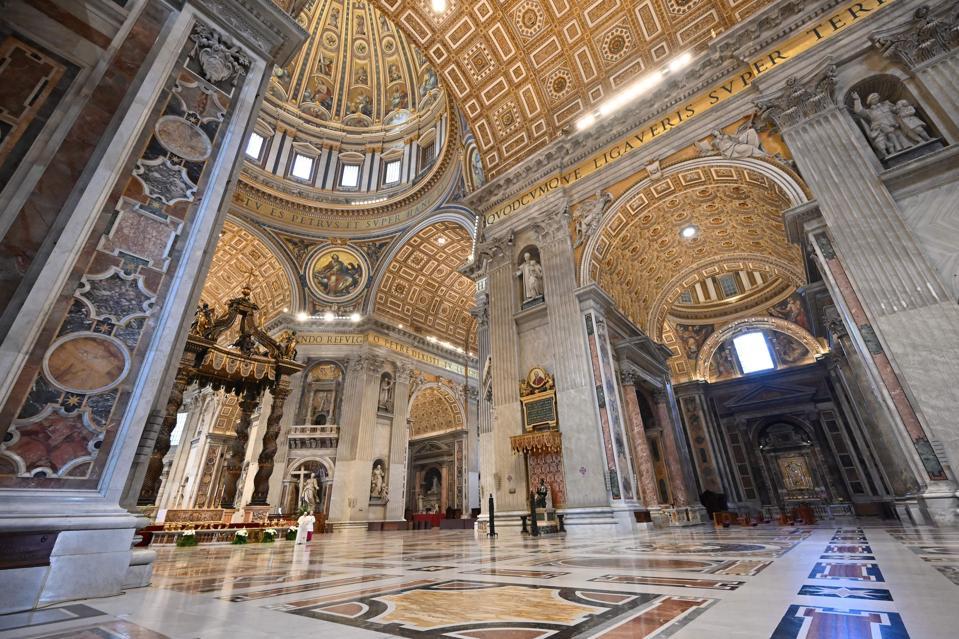 VATICAN-RELIGION-POPE-HEALTH-VIRUS-EASTER-SUNDAY-MASS