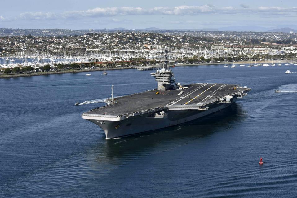 Capt. Brett Crozier, commanding officer of the aircraft carrier USS Theodore Roosevelt