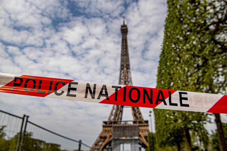 Coronavirus crisis in Paris, France
