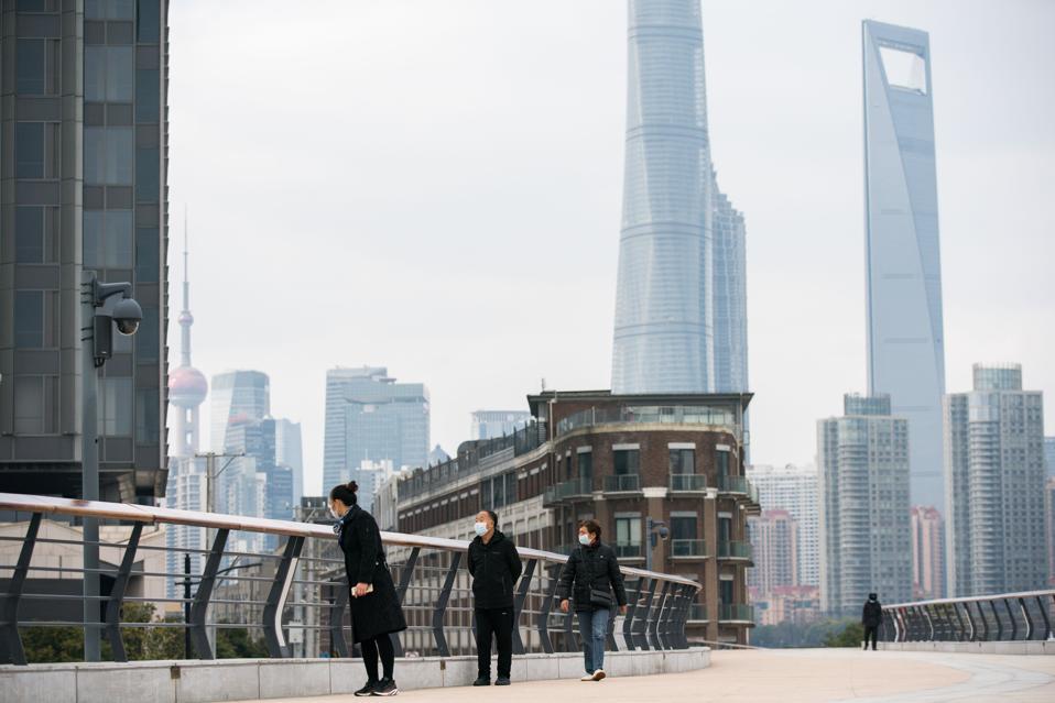 Daily Life In Shanghai Amid Coronavirus Outbreak