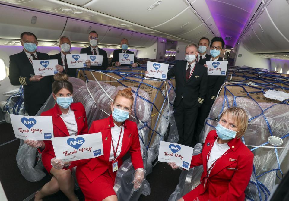Coronavirus Virgin Atlantic 787 Dreamliner COVID-19