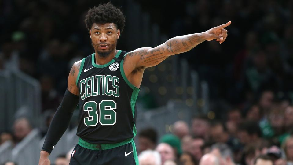 Celtics' Marcus Smart Adjusting Accordingly With Increasing Coronavirus  Concerns