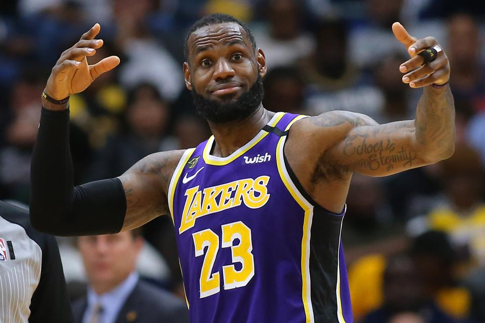 Los Angeles Lakers v New Orleans Pelicans LeBron James