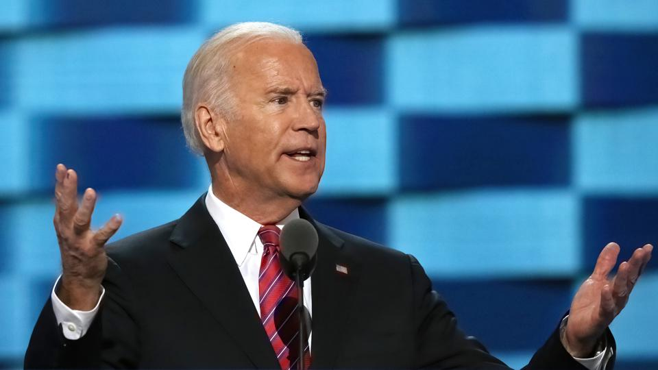 Vice President Joe Biden Addresses The Democratic National Convention
