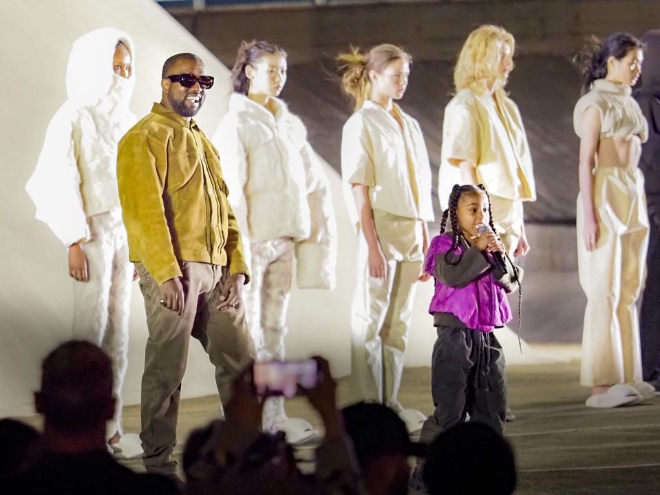Outside View Of ″Yeezy Season 8″ Show - Paris Fashion Week Womenswear Fall/Winter 2020/2021