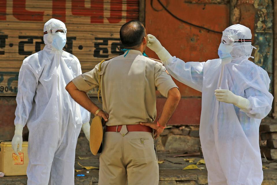 Coronavirus Outbreak- Lockdown In Jaipur