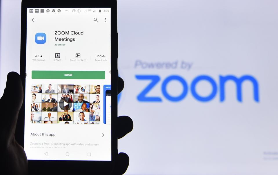 Zoom App Illustration