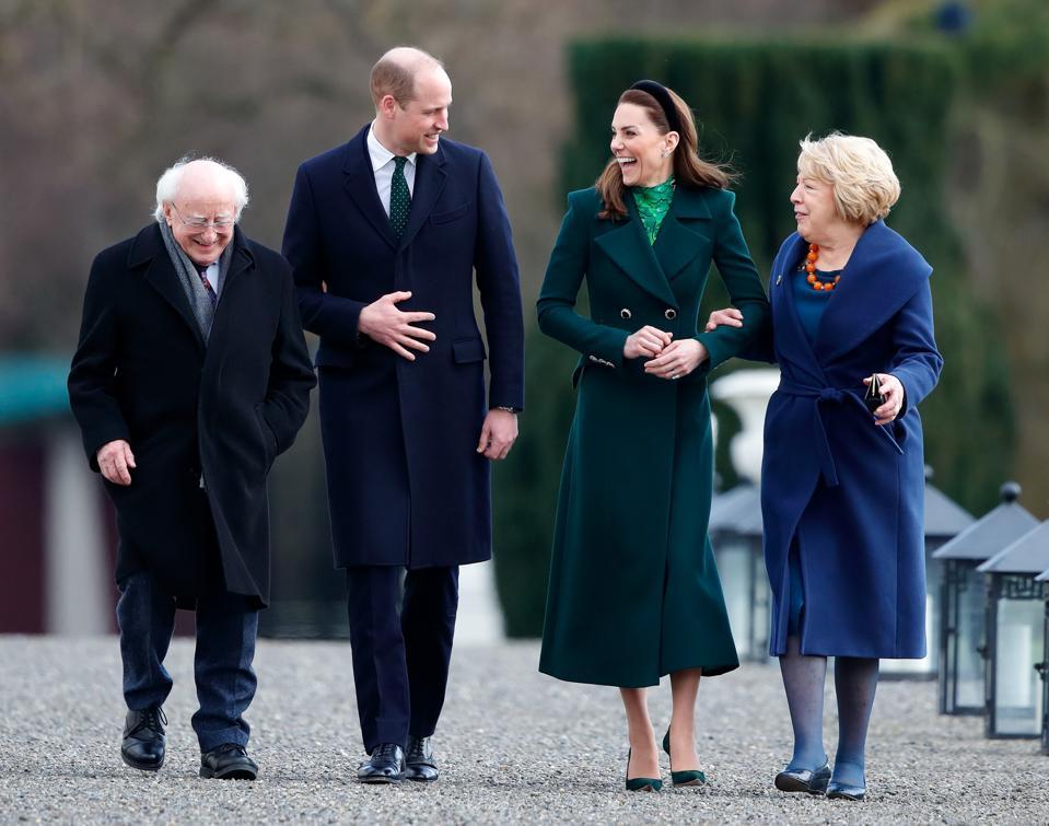 Duke And Duchess Of Cambridge visit Ireland