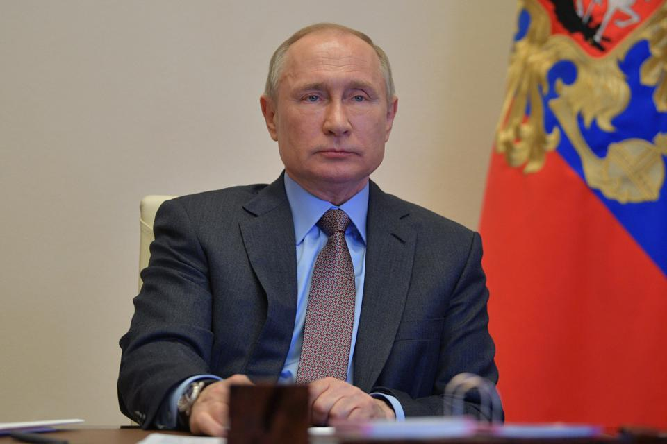 Russian President Putin holds video conference meeting on building and repurposing regional hospitals