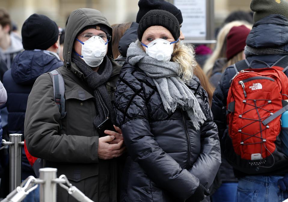 Paris in coronavirus