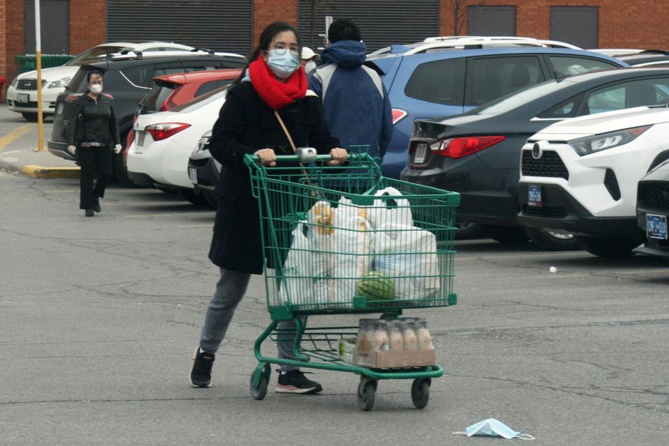 Daily Life During The Coronavirus Pandemic In Toronto