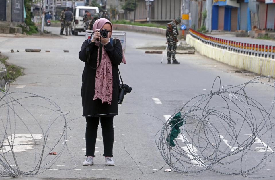 Photojournalist Masrat Zahra