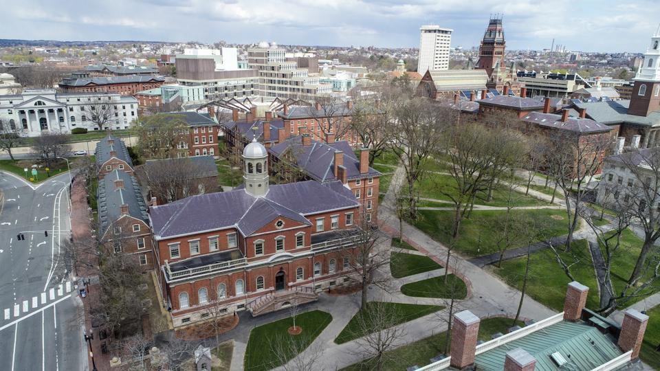 Aerial View Around Harvard