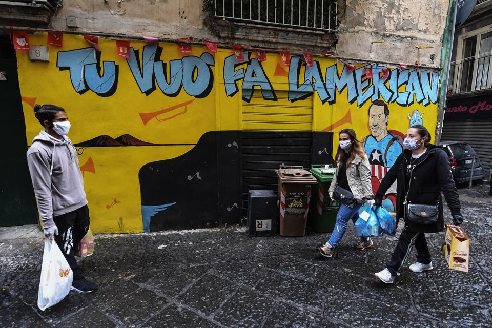 After The Health Crisis Comes Poverty, Italy Warns The World