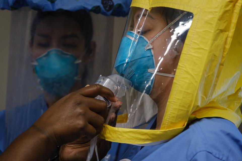 N95 mask respirator COVID-19 coronavirus