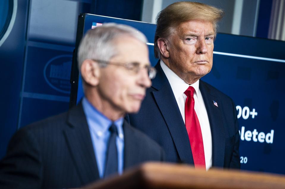 President Donald J. Trump and Antony Fauci
