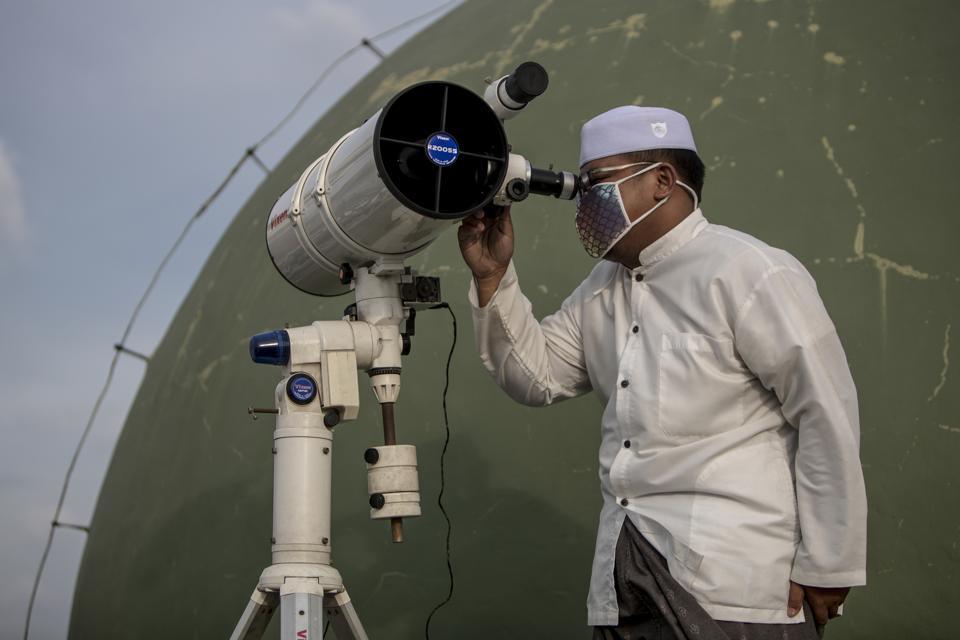 Indonesian Muslim Welcoming Ramadan