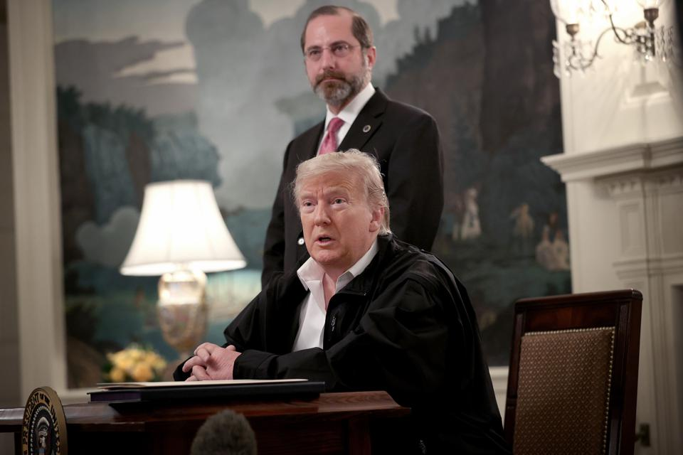 President Trump Signs Emergency Coronavirus Funding Bill