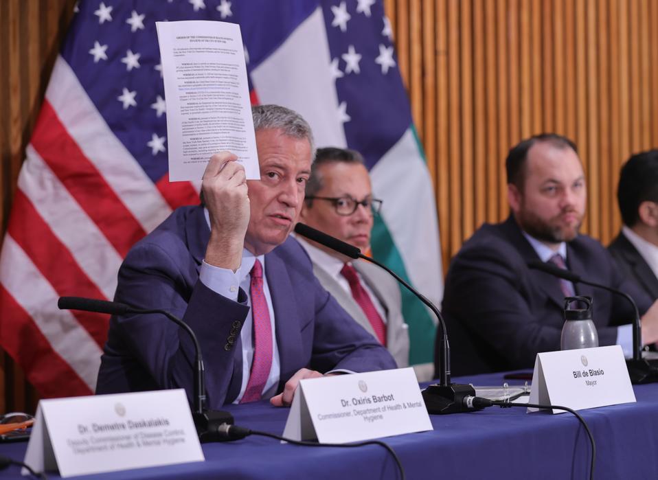 Mayor De Blasio COVID-19 Press Conference