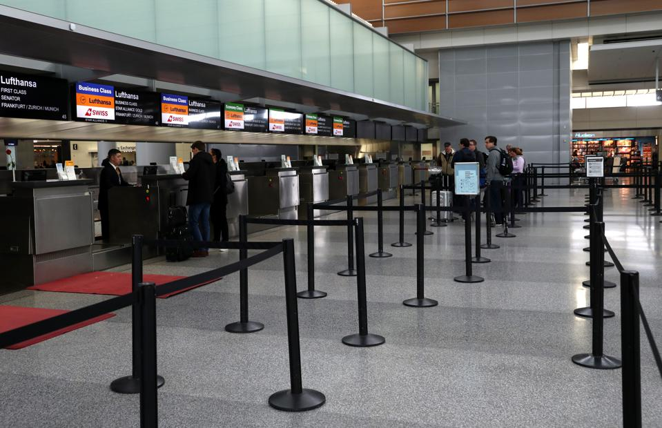 Airlines Face Significant Losses As Businesses Restrict Travel Due To COVID-19