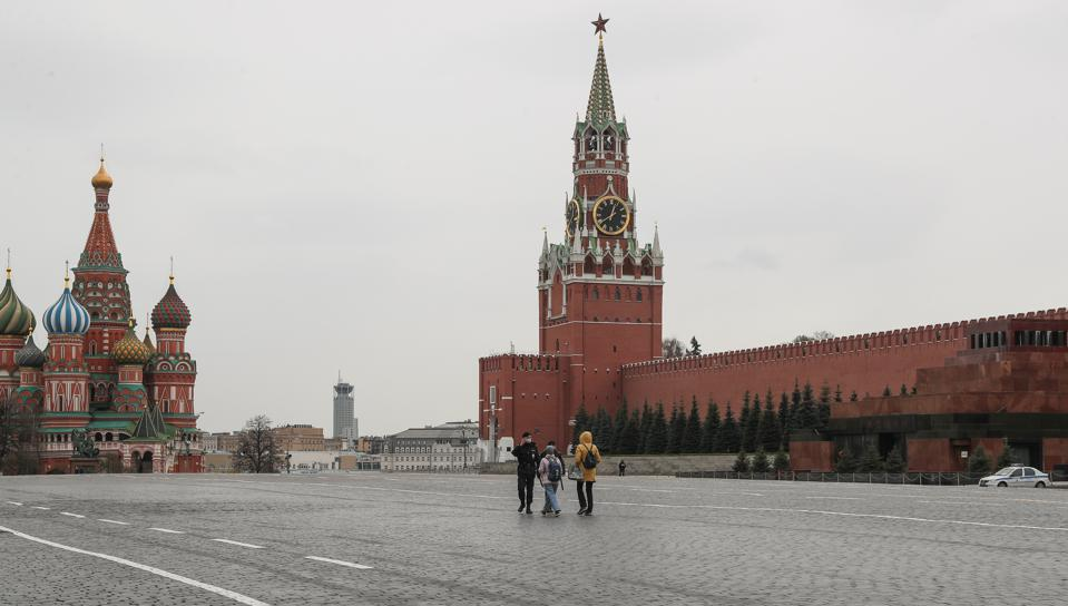 Moscow in lockdown amid COVID-19 pandemic