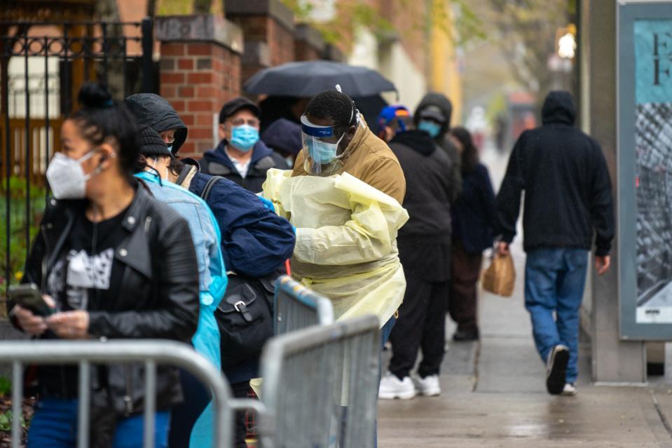 New York City Opens New Coronavirus Testing Sites For NYCHA Residents