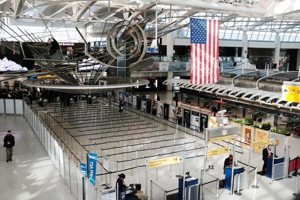 Coronavirus Outbreak US ban travel from Europe Global Travel Slows