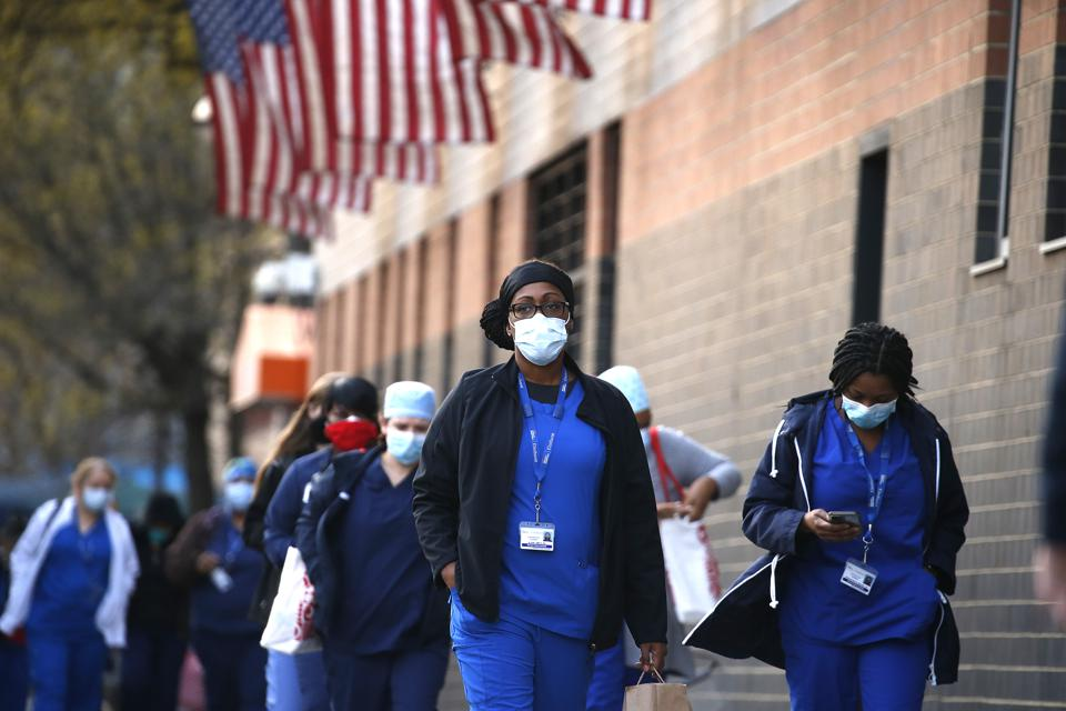 New York City Hospitals Experience A Decrease In Coronavirus Cases