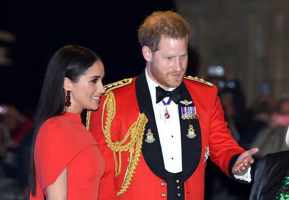 Duke And Duchess Of Sussex Attend Mountbatten Music Festival