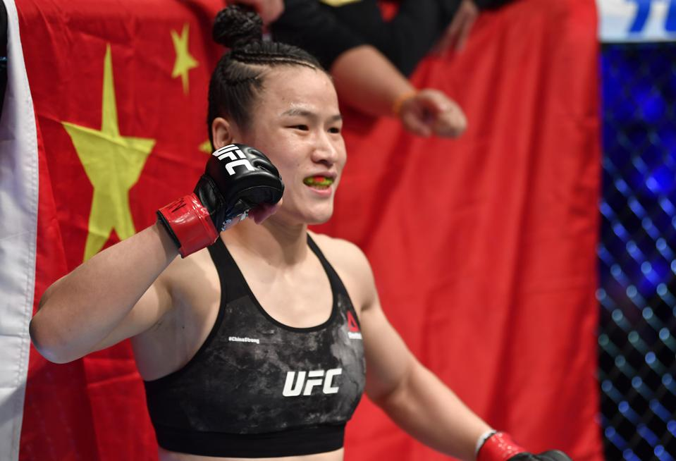 UFC 248: Zhang v Jedrzejczyk