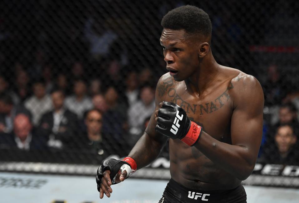 Israel Adesanya defeated Yoel Romero at last night's UFC 248