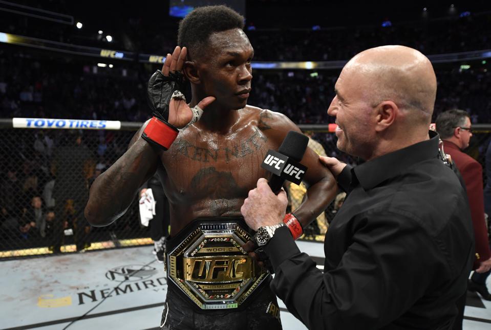 Israel Adesanya defeated Yoel Romero last night at UFC 248.