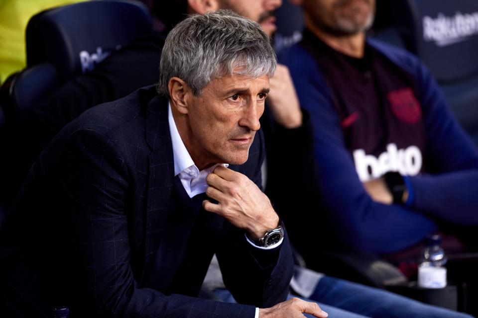 Will Quique Setien Be Fired If Fc Barcelona Lose To Villarreal This Weekend