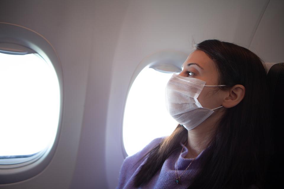JetBlue face mask