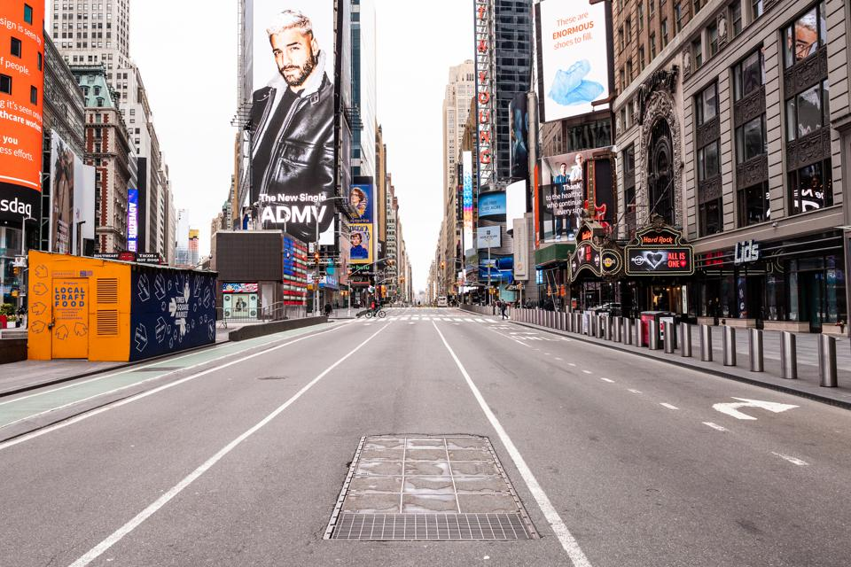 General Scenes During The Coronavirus Lockdown In NYC