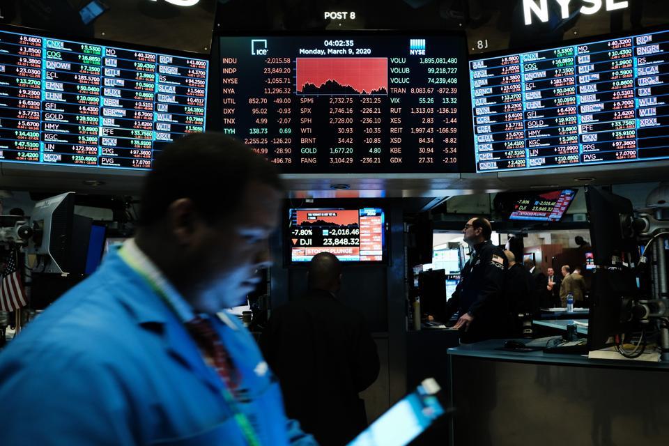 Markets Plunge Dramatically Nearly 8 Percent As Economic Fears Grow Over Coronavirus Spread