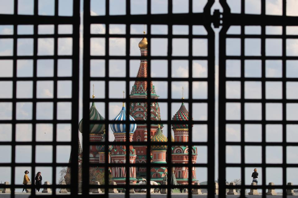 Moscow amid self-isolation regime