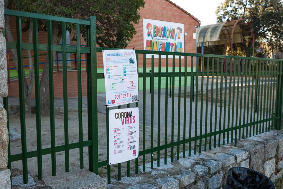Spanish Government Shuts Schools In Madrid To Slow COVID-19 Spread