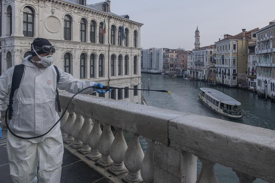 Italy Clamps Down On Public Events And Travel To Halt Spread Of Coronavirus