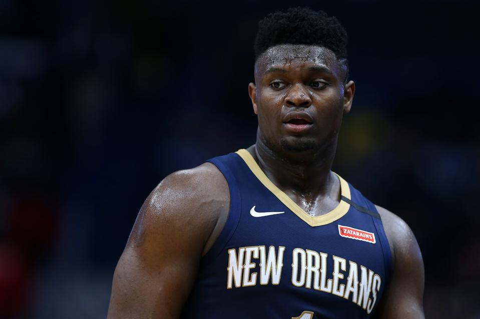 Miami Heat v New Orleans Pelicans. Zion Williamson