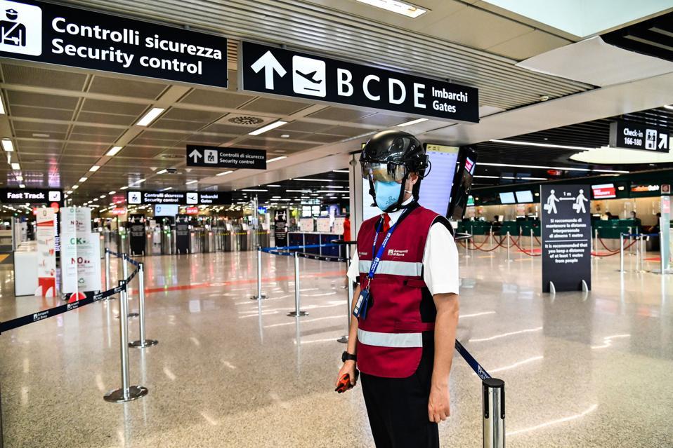 Italy borders open Europeans US travelers must wait longer Rome Fiumicino
