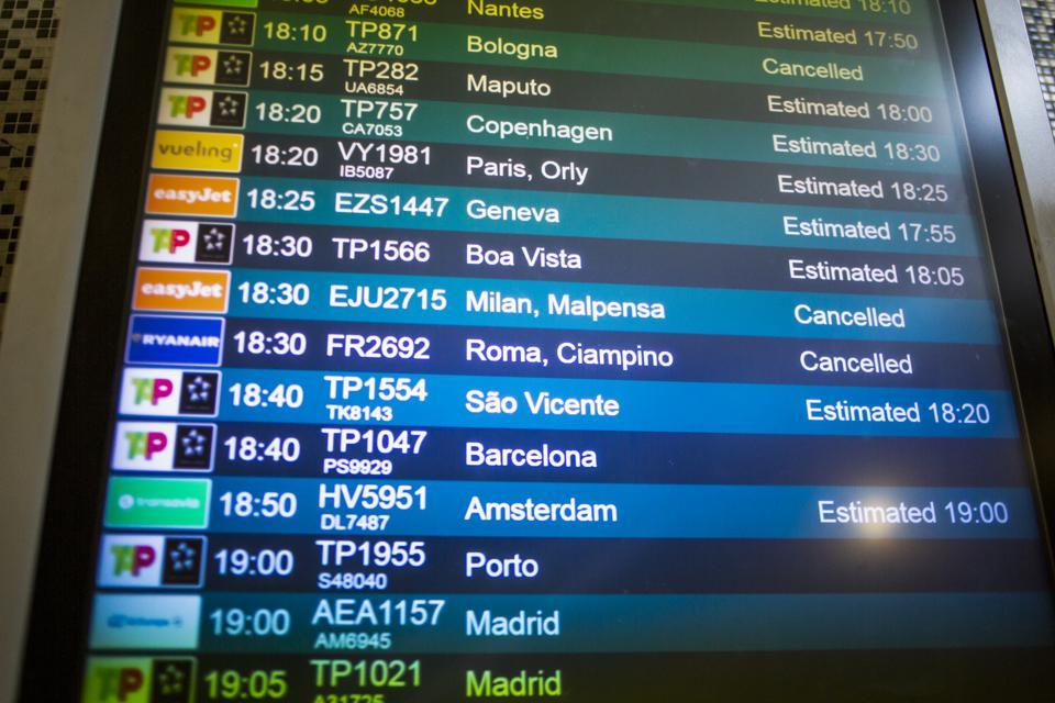Lisbon Airport COVID-19