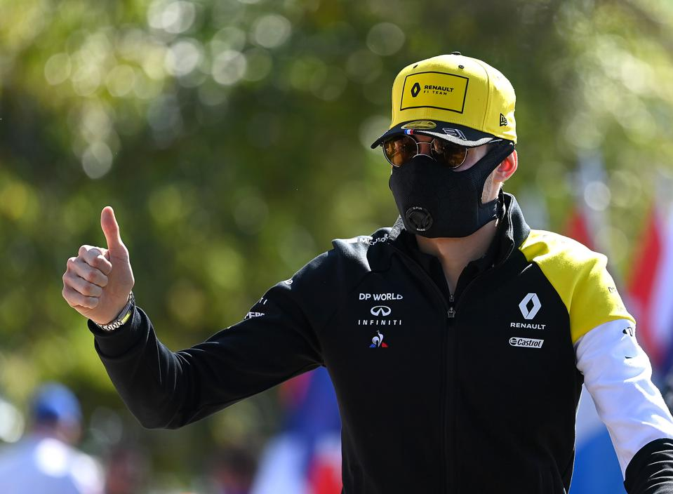 Wearing a mask isn't enough to put the brakes on the spread of coronavirus (Clive Mason/Getty Images)