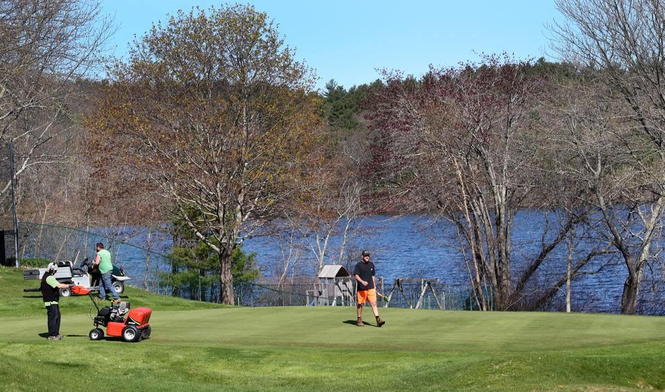 Golf Courses Prepare For Opening